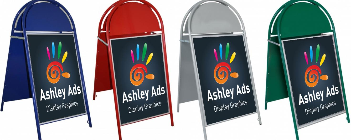 Ashley Ads pavement signs carousel image01