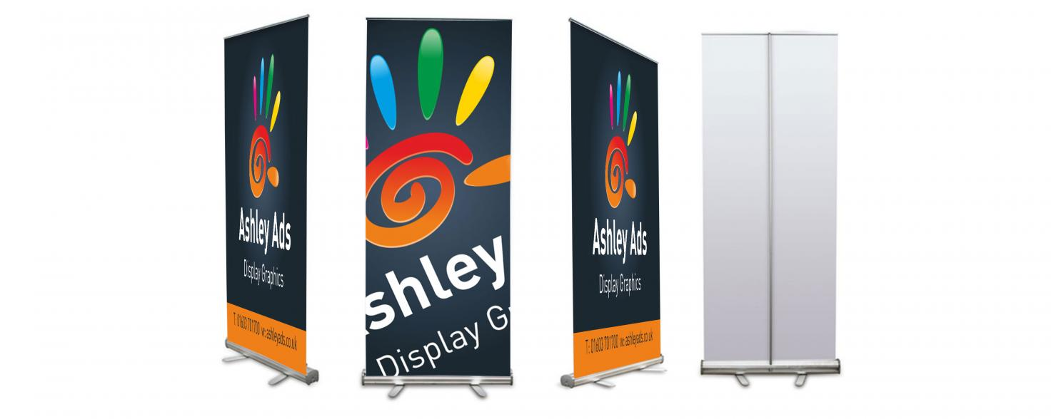 Ashley Ads roll up banners carousel image01